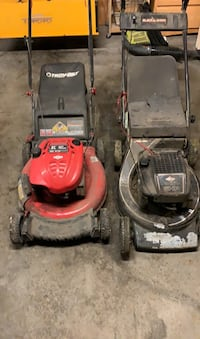 2 lawn mowers Coventry, 02816