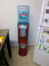 Cold and hot dispenser