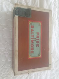 Pride of Baltimore Cigar Box Middle River, 21220