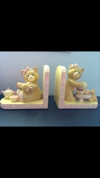 Two ceramic book holders Guelph, N1G