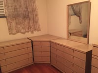 brown wooden dresser with mirror Falls Church, 22042
