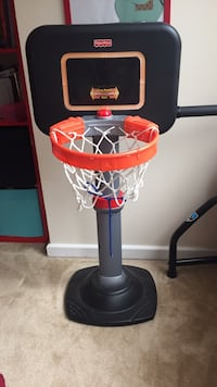 red and black Little Tikes basketball hoop Arlington, 22202