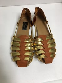 pair of brown leather open-toe sandals Rockville, 20850