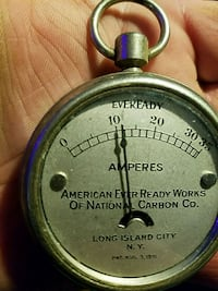 American Ever Ready Works amp meter