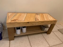 Bench/shoe rack