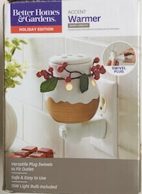 Snowman Fragrance Bar Warmer - NEW/OPEN BOX NEVER USED. See my other offers Stockton, 95209