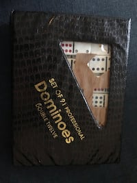 Professional set of dominoes 91 pieces