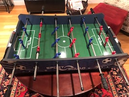 Foosball Tapletop game (approx 40x20).