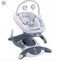 baby's gray and white cradle and swing Frederick, 21703