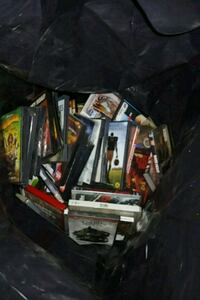 Contractor bag of dvds. Probably 150+ Stoneham, 02180