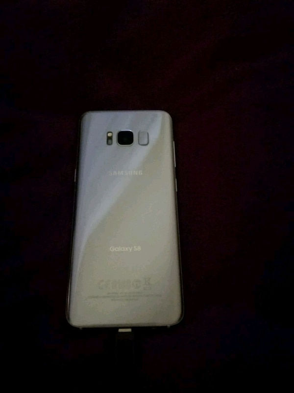 white Samsung Galaxy Android smartphone
