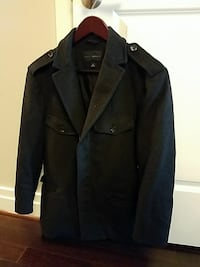 Banana republic men's black coat McLean, 22102