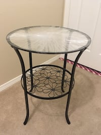 Glass top side table Victoria, V8P 2Y9