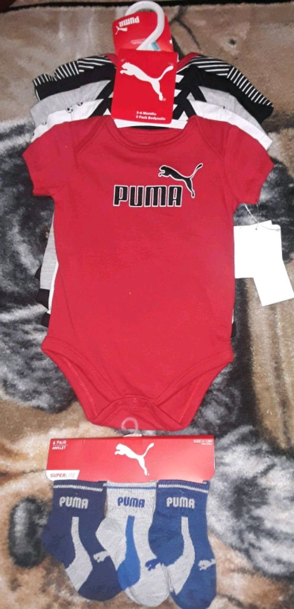 88a91b708 Used 3-6 month old baby Puma bundle for sale in Decatur - letgo