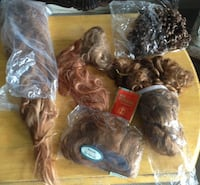 assorted color of hair pieces TORONTO