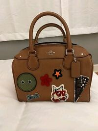 Brown Coach satchel (Rare edition) 576 mi
