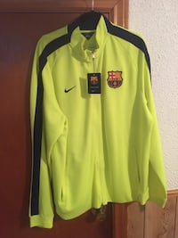 Barcelona fc zip up track top Mississauga, L5G 3Y8