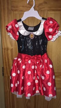 girl's black and red Minnie Mouse dress Little Ferry, 07643