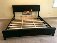 Brand New King Size Leather Platform Bed  Silver Spring, 20902