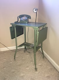 Olive Green Typewriter Stand