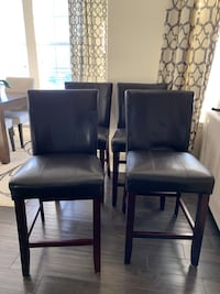 Four counter height chairs Arvada, 80007