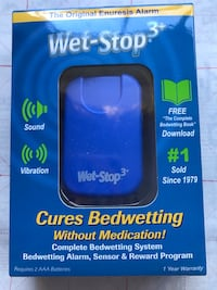 Wet Stop 3 Bedwetting Alarm (Blue) Mc Lean, 22102