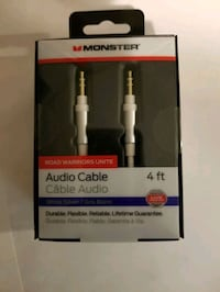 Brand new 4 foot monster aux cable  Mississauga