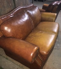 Brown Leather Couch Set Brampton, L6S 5K8