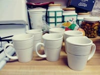 6 cups used white and silver Baltimore, 21239