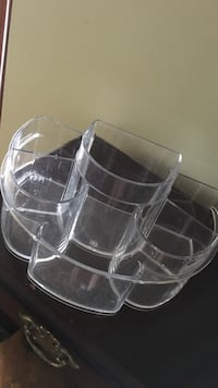 Acrylic Makeup Brush Holder Laval, H7G 5M2
