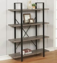 Brand new Crownn mark Durango 4-Shelf Bookcase