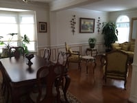 brown wooden dining table and chairs Ashburn, 20147
