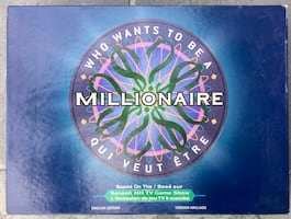 Who Wants To. Be A Millionaire board game