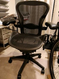 Herman Miller Aeron Executive Office Chair Size B Fairfax, 22031