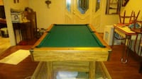 solid slate drop pocket pool table Huntington, 25701