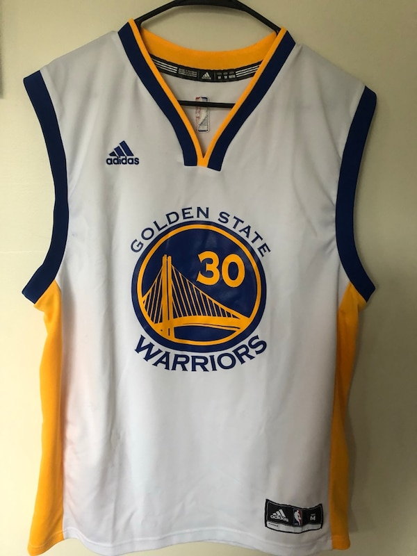 promo code 53601 1c46e Brand new GSW curry jersey men's Large