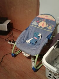 baby's green, blue, and white Fisher Price bouncer Scranton, 18504