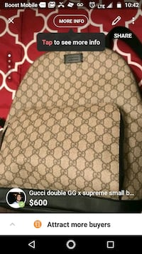 Authentic fullsized gucci pack Dallas, 75211