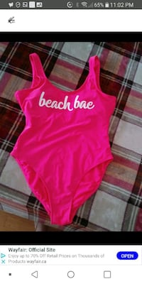 Woman New bathing suit size large