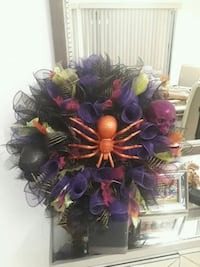 purple and yellow flower wreath Pharr, 78577