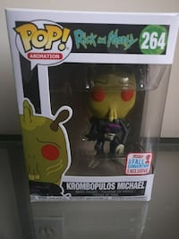 Rick and morty krombopulos michael funko pop excl