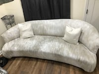 Antique couch pillows included