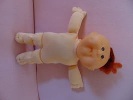 Vintage Cabbage Patch - naked baby red tuff hair