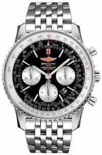 Breitling Navitimer 01 Chronograph Black Dial Steel Men's Watch Washington, 20002