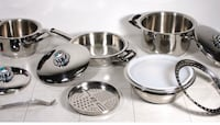 12-PC Cookware Set Stainless Steel With Lifetime Guaranteed Toronto, M5V