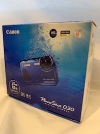 CANON Digital Camera (Blue)
