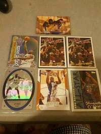 7 shaquille o neal cards  Jessup, 20794