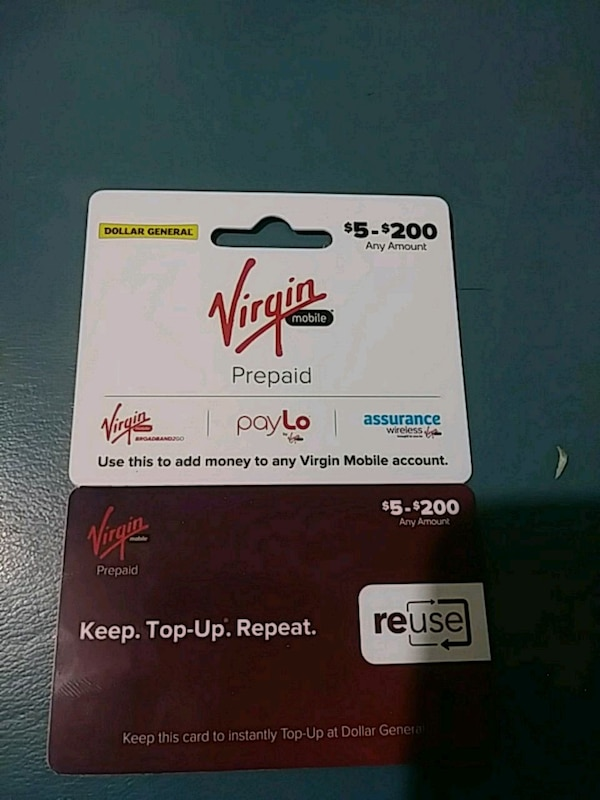 $55 virgin mobile unlimited card for 45 obo