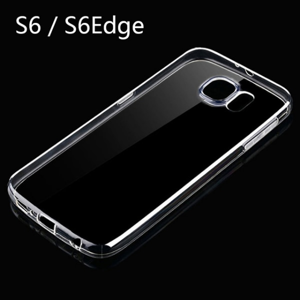 newest collection b61a2 5e672 New Case for Samsung Galaxy S6 Clear Soft Silicone Case Back Cover for  Samsung S6 Edge