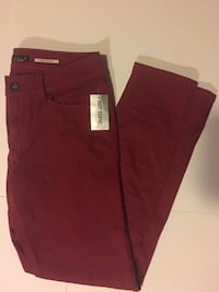 maroon Hot Topic jeans